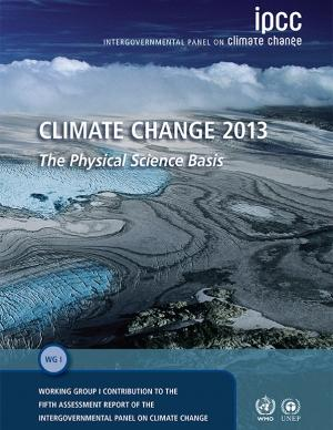 Cover of the Climate Change 2013 report