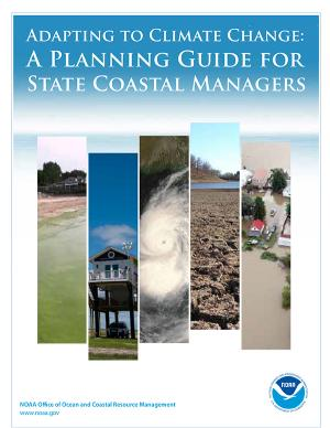 Cover of the Adapting to Climate Change planning guide
