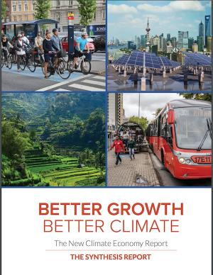 Cover of Better Growth Better Climate report