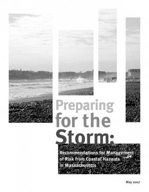 Cover of the Preparing for the Storm report