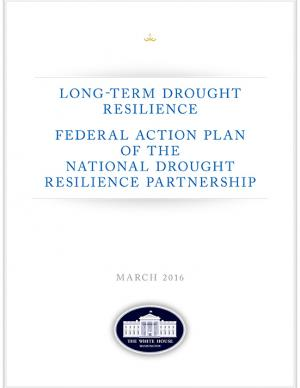 Cover of the Long-Term Drought Resilience Federal Action Plan