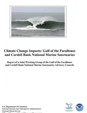 Cover of the Climate Change Impacts report