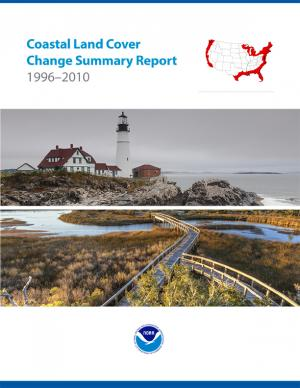 Cover of the Coastal Land Cover Change Summary Report