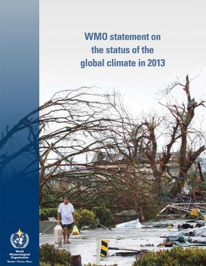 Cover of the WHO statement on the status of the global climate in 2013 report