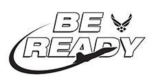 Air Force Be Ready logo