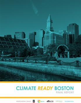 Cover of the Climate Ready Boston Final Report