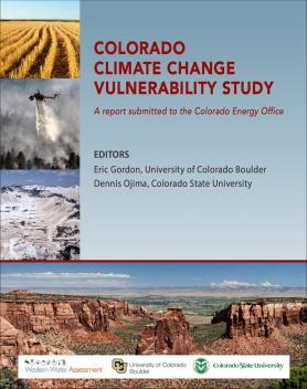 Cover image from Colorado Climate Change Vulnerability Study