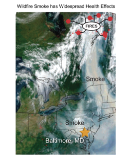 Wildfire Smoke has Widespread Health Effects