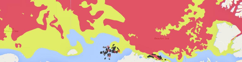 Screenshot from Arctic ERMA