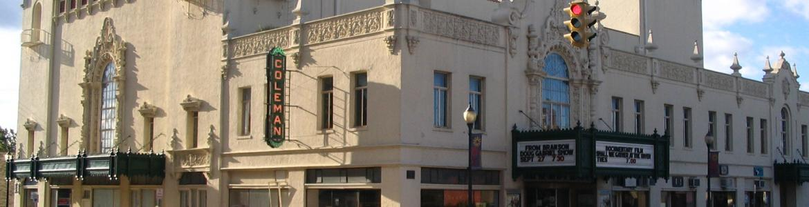 The Coleman Theater in downtown Miami, OK