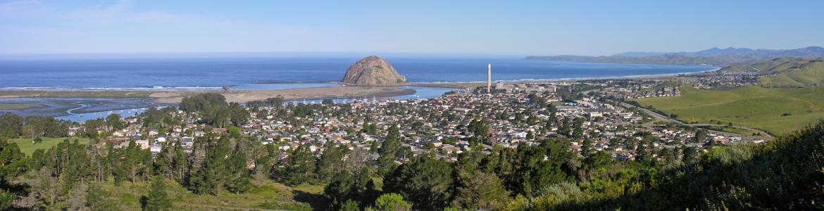 Morro Bay, Morro Rock, and the City of Morro Bay