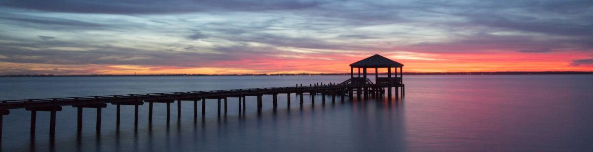 Albemarle Sound at Sunset