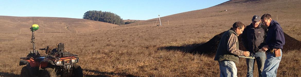 Ranchers and researchers in Marin County discuss carbon farming