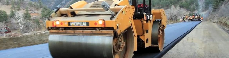 Rebuilding a road in Colorado