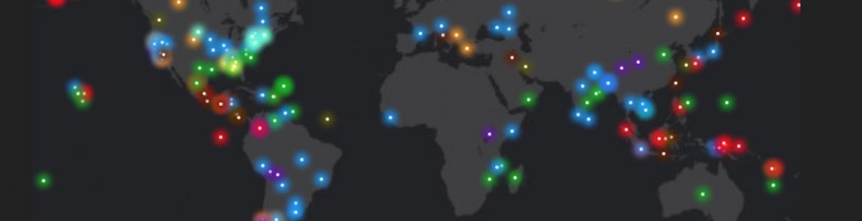 screenshot of disasters portal