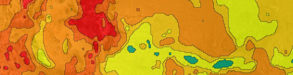 Screenshot from the Geothermal Prospector