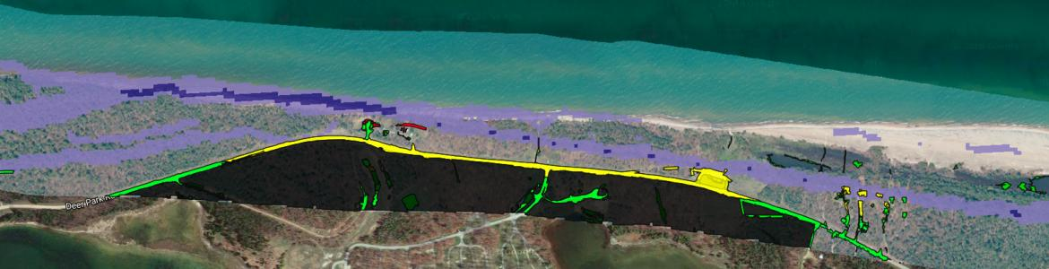 Screen capture from Great Lakes Shoreviewer