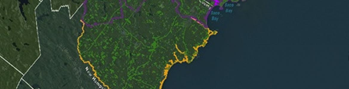 Screen capture from the Habitat Priority Planner tool