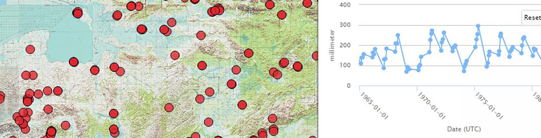 Screen capture from Imiq Data Portal