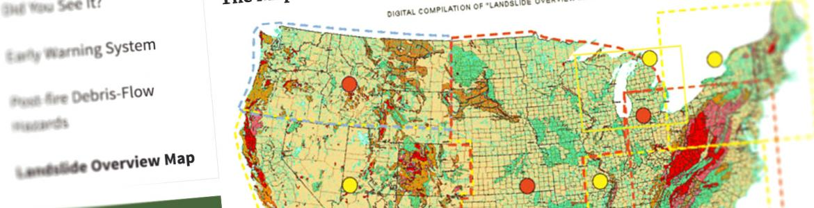 Landslide Overview Map US Climate Resilience Toolkit